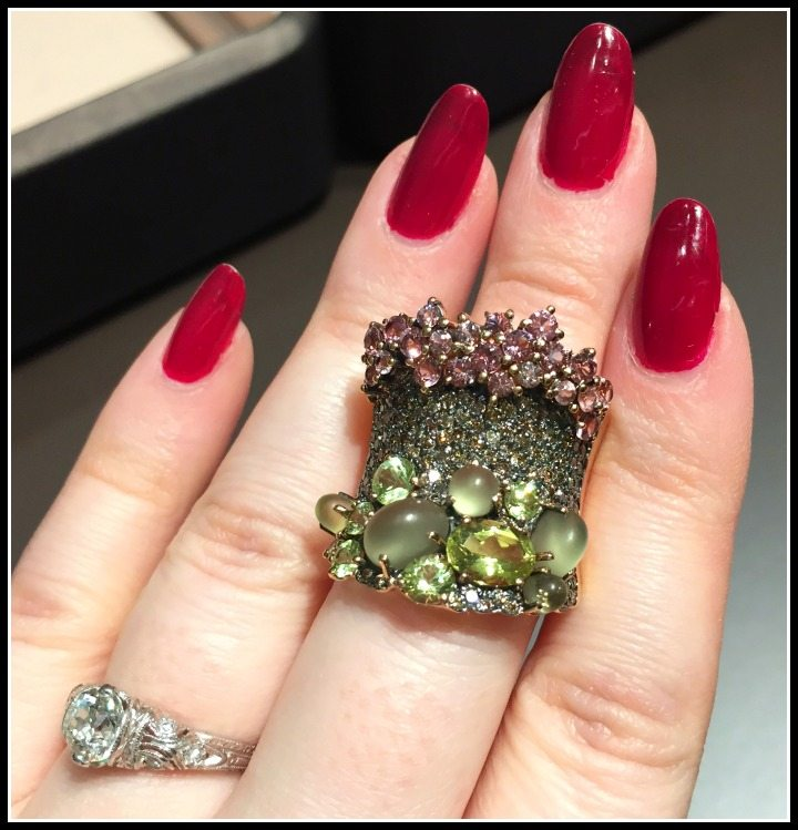 A fabulous Brumani ring from the Baobab collection. Would you wear this unusual piece?