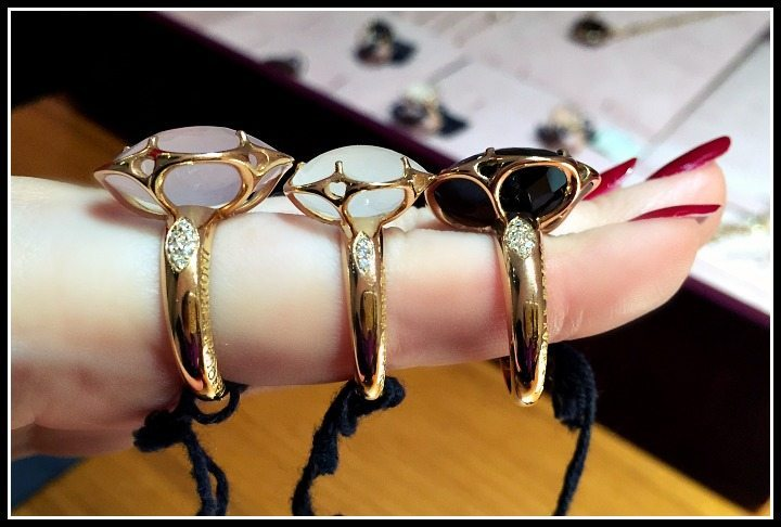 Beautiful rings by Pasquale Bruni