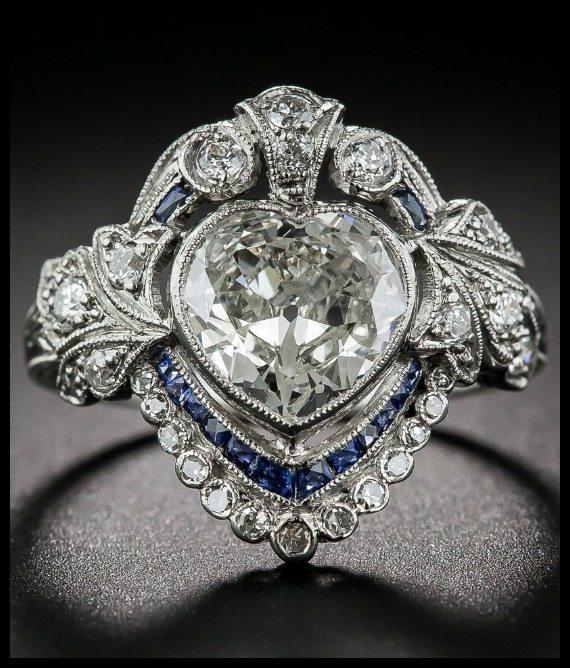 Edwardian Wedding Rings 6 New Edwardian sapphire and diamond