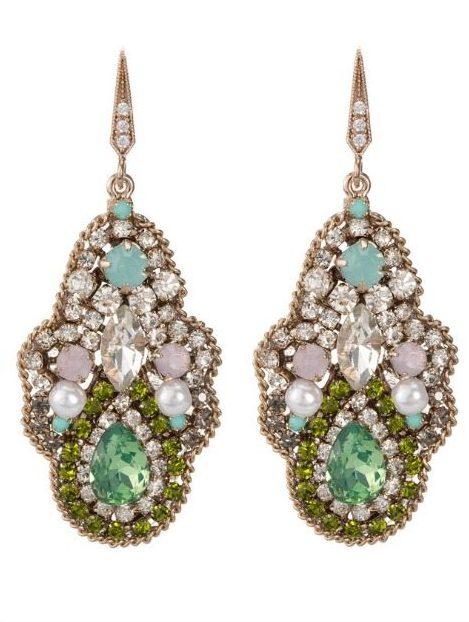 Theia Moroccan Garden earrings