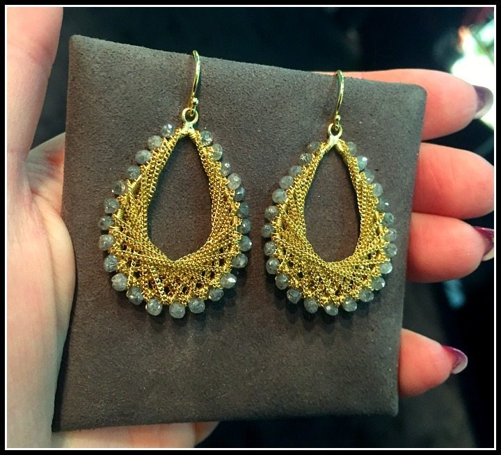 Fabulous Amali jewelry earrings.