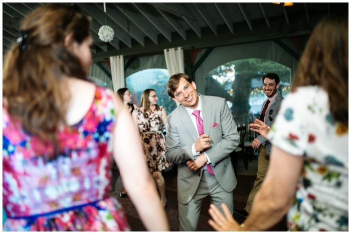 My dapper groom has his dancing shoes on. Photography by Angel Kidwell.