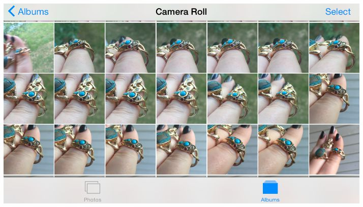 A peek at how many tries it takes to get a truly great photo of jewelry.