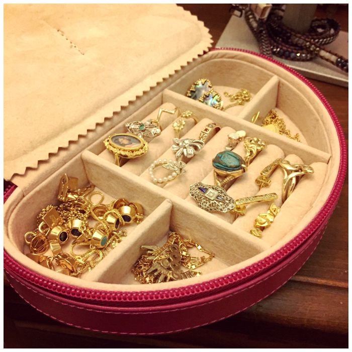 How to pack jewelry for a move - keeping my most precious pieces safely nearby.