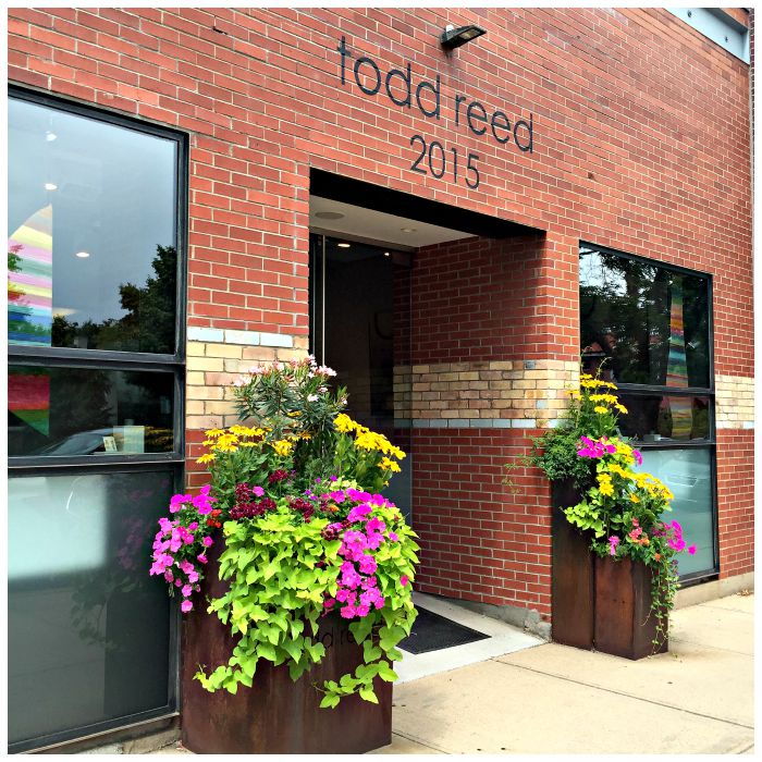 The Todd Reed studio in Boulder, CO.