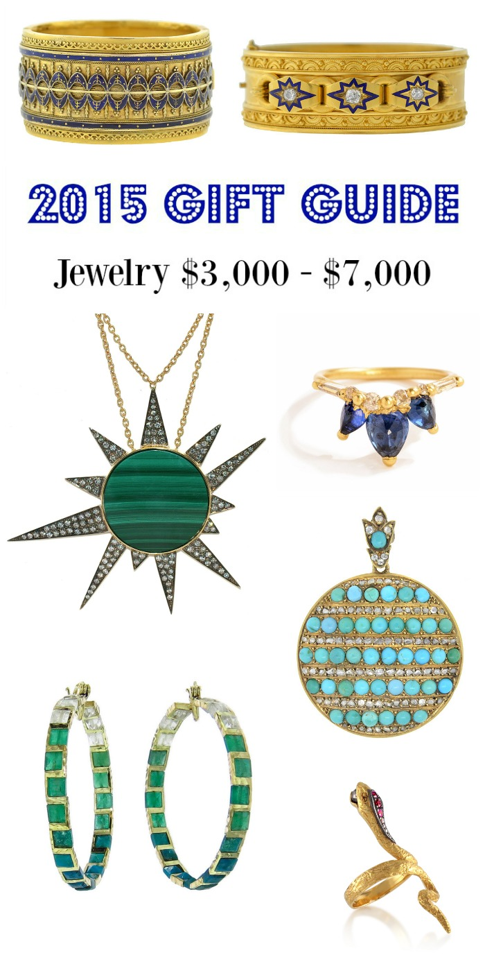 Diamonds in the Library's 2015 jewelry gift guide - jewelry $3000- $5000