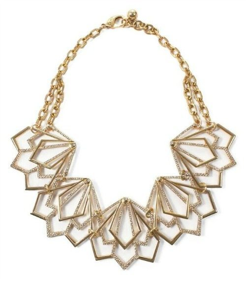 The Lulu Frost Portico statement necklace.