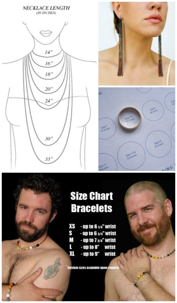 Everything you need to know about jewelry sizes is here on Diamonds in the Library's Jewelry Sizing Cheat Sheet.