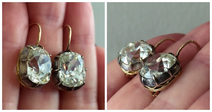 My encounter with the Olsen twins, the legendary pair of diamond earrings belonging to the fabulous proprietress of Jewels by Grace.
