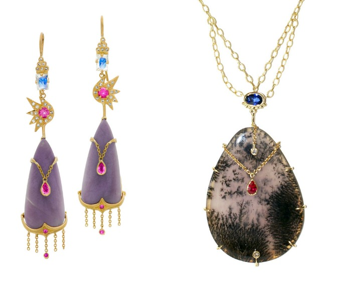 Two beautiful pieces by Unhada jewelry. Such incredible designs!