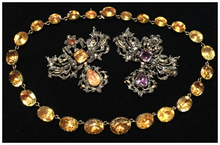 Glorious Georgian jewelry from Lowther Antiques.