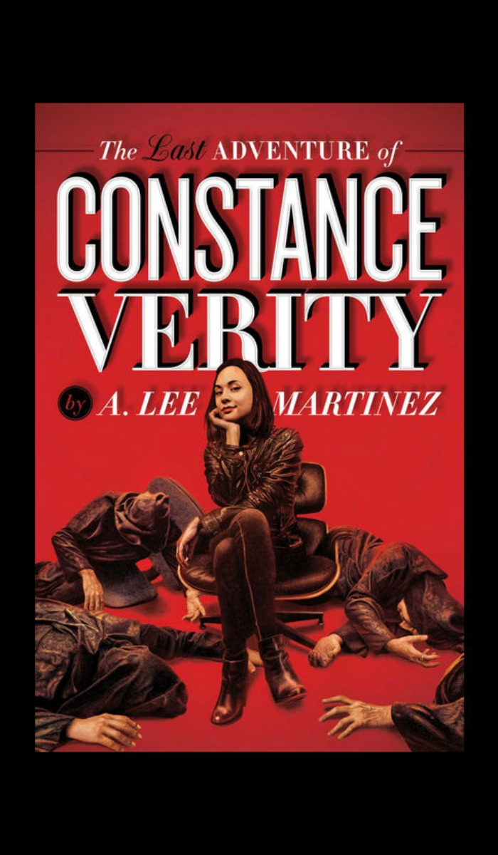 My review of The Last Adventure of Constance Verity - a completely unique, over-the-top SciFi and Fantasy adventure like you've never read before.