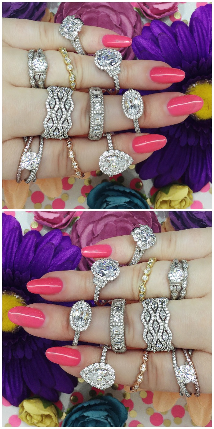 A handful of lovely rings from the Sylvie Collection. Some bridal, some just fabulous.