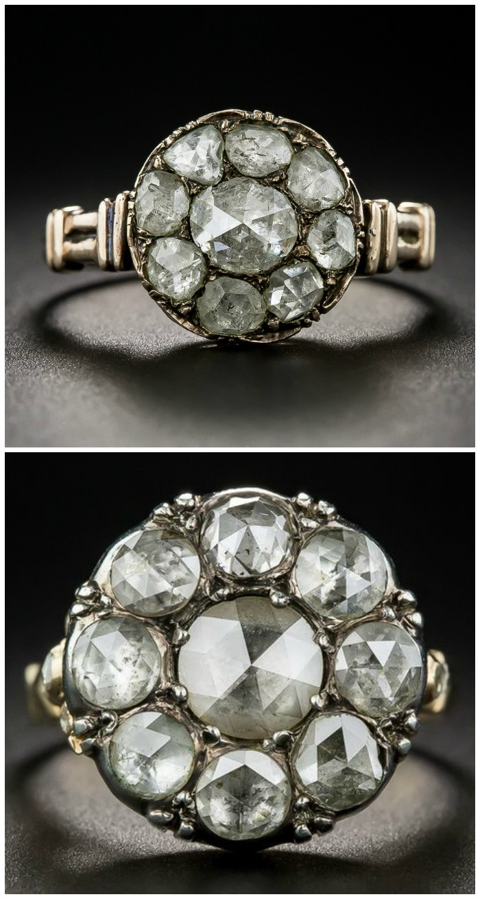 two-stunning-antique-rose-cut-diamond-cluster-rings-from-lang-antiques