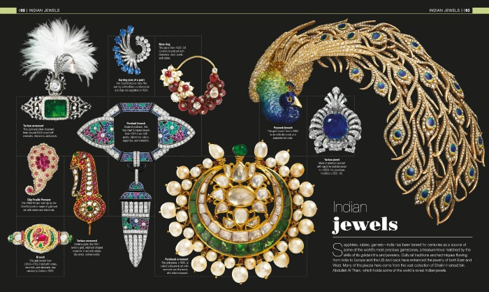 A peek inside the Indian jewels of Gem. Images reproduced by permission of DK, a division of Penguin Random House from Gem ©2016 by DK. All rights reserved.