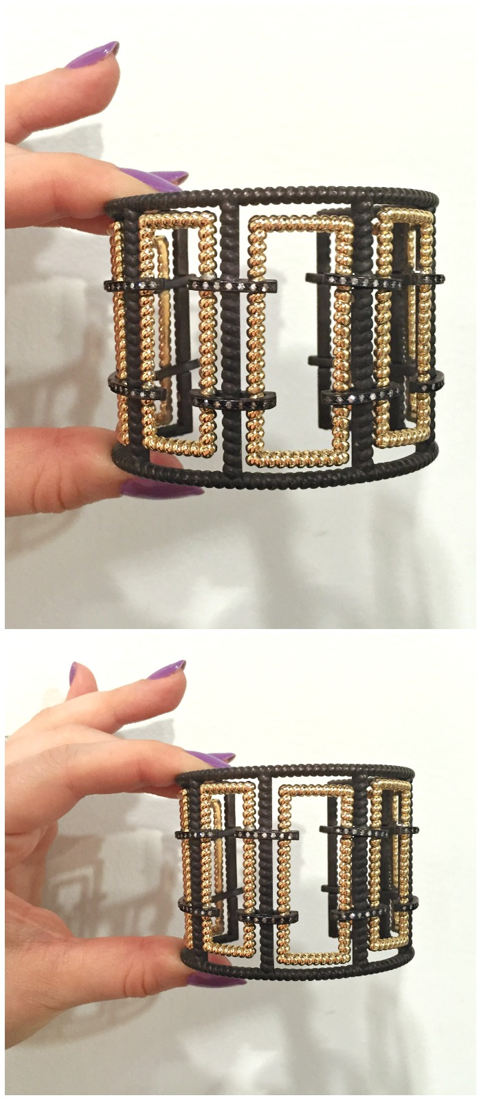 A stunning cuff bracelet by the talented Nancy Newberg.