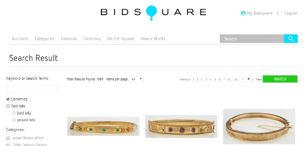 Making online auctions easy with Bidsquare.