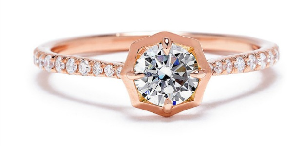 13 ultra-cool contemporary engagement rings.
