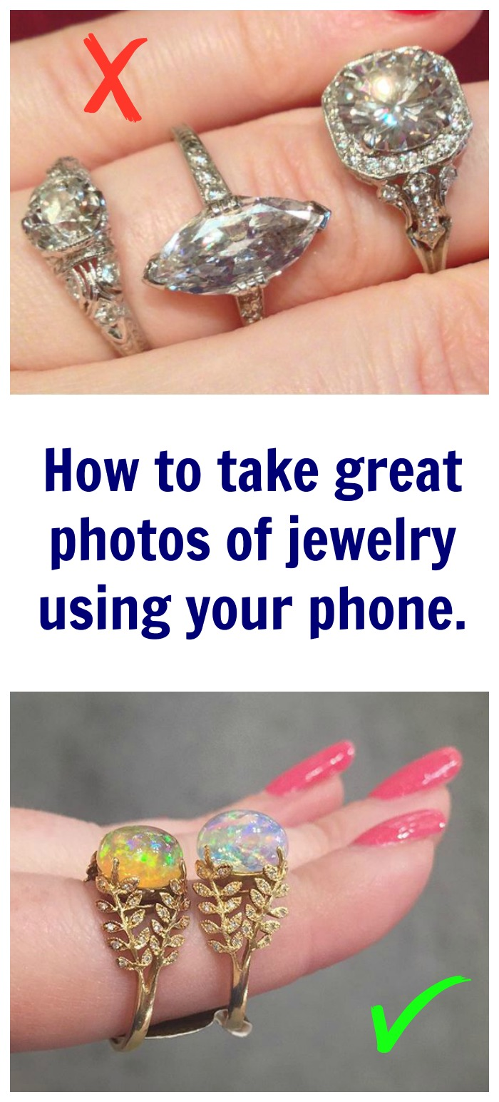 How to take great jewelry photos with your phone