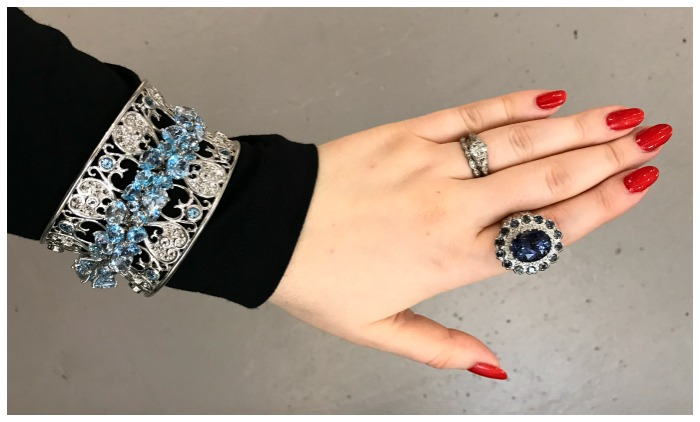 Glamorous jewels by Dallace Prince! I loved meeting this fabulous designer at the AGTA GemFair.