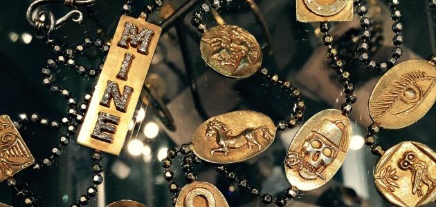 Bold, beautiful jewels by Stella Flame.