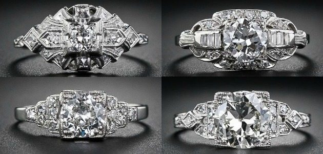 Ring roundup - Art Deco engagement rings