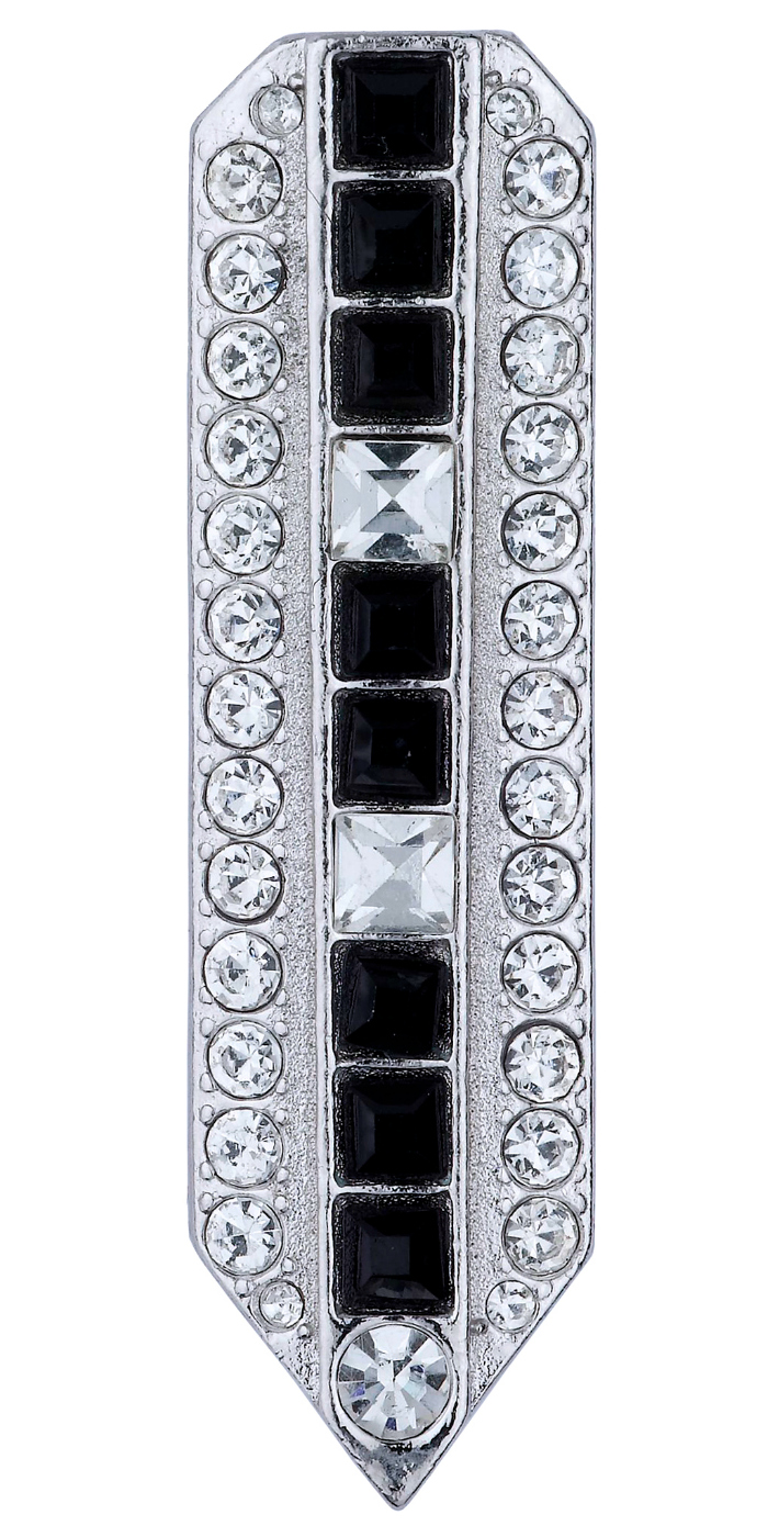 The Vivien black and white dress clip from Jubilee Jones.