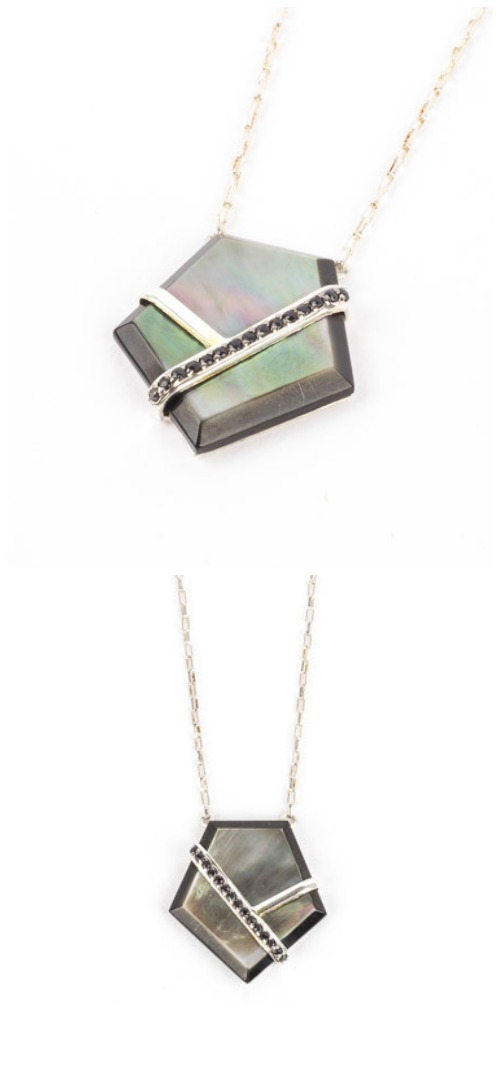 A beautiful pendant necklace by Kara Ross. Available at STORE 5a.