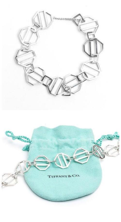 A pre-loved silver Tiffany and Co. bracelet at STORE 5a.