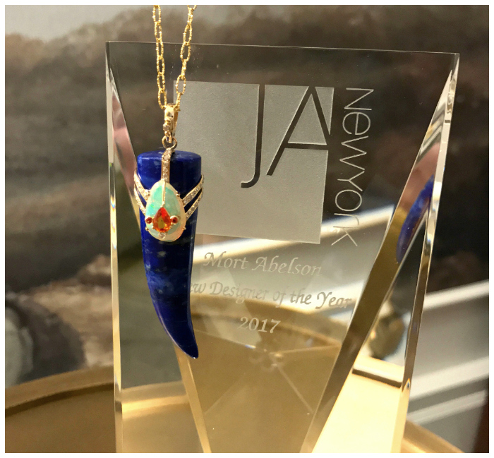 Loriann Jewelry recently won the Mort Abelson New Designer Award at JA New York.