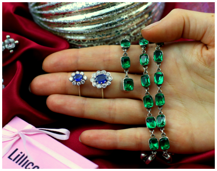 A handful of beautiful antique jewelry from Lillicoco!