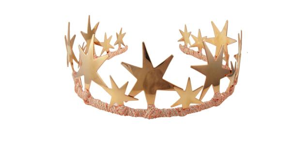 The rose gold tiara of your celestial dreams.