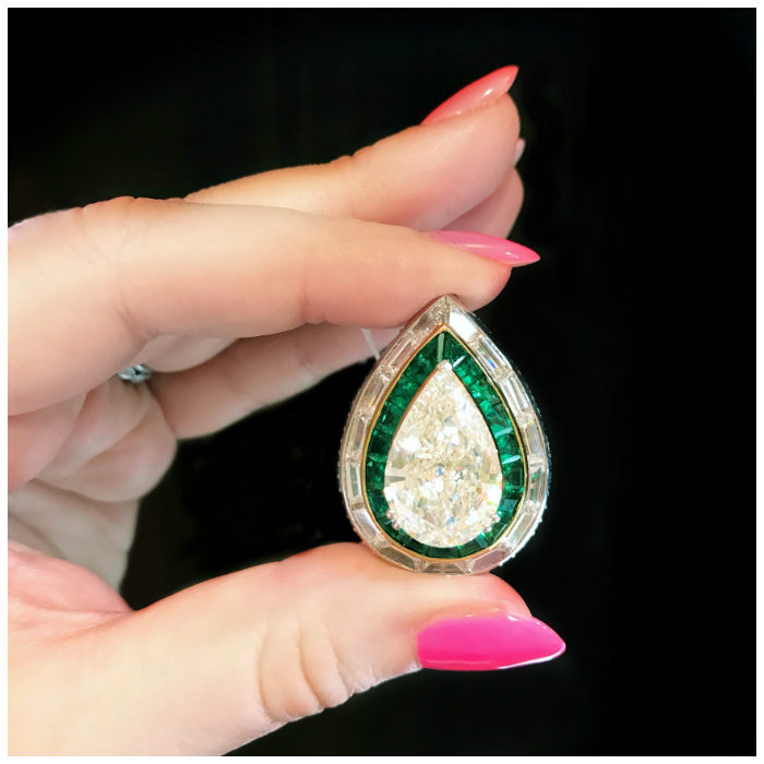An incredible diamond ring by Picchiotti. Such a great example of extraordinary Italian jewelry design!