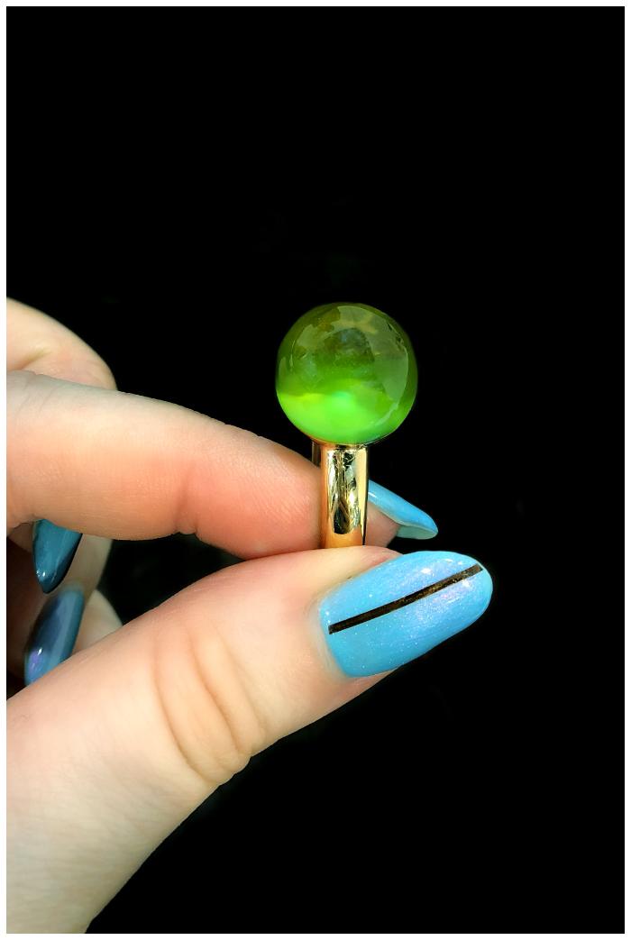 A beautiful, colorful ring by gioielliamo!! Extraordinary Italian design.