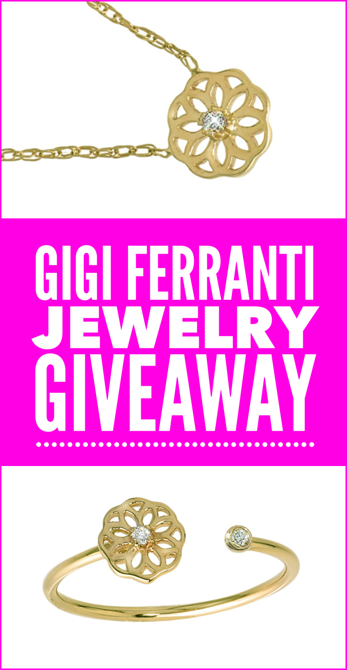 Enter to win a FREE piece of gold and diamond GiGi Ferranti jewelry!!!!