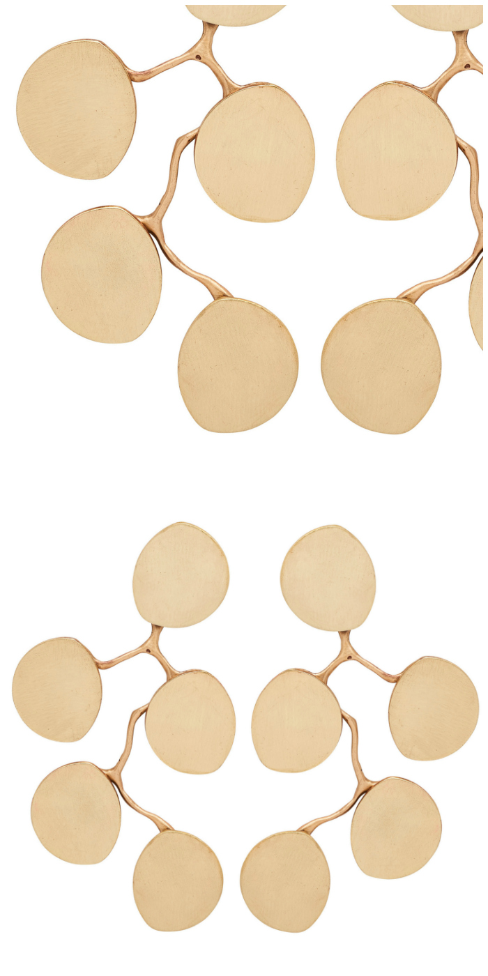 The beautiful Redbud earrings by Julie Cohn Design. I love how these move when worn! Great summer statement earrings.