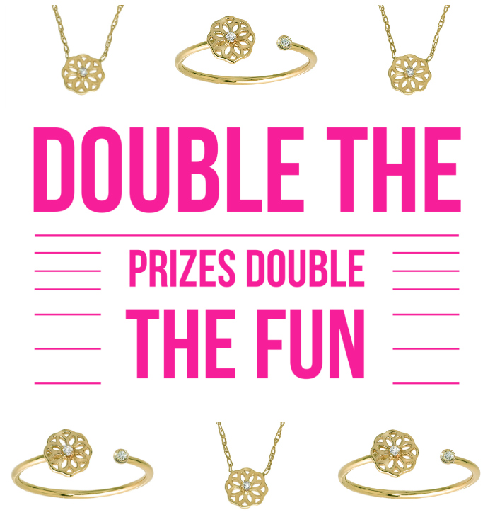 Surprise twist!! My GiGi Ferranti jewelry giveaway has been so successful, we've decided to double it!!