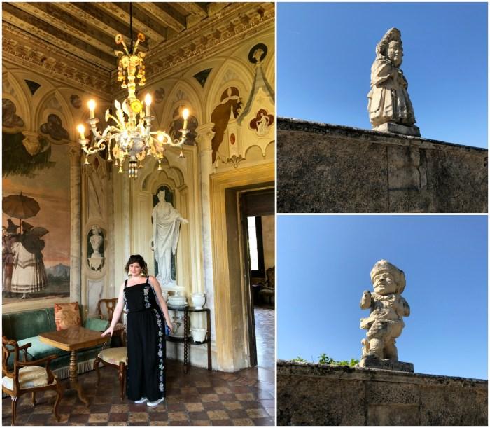 At the Villa Valmarana ai Nani in Vicenza, Italy.