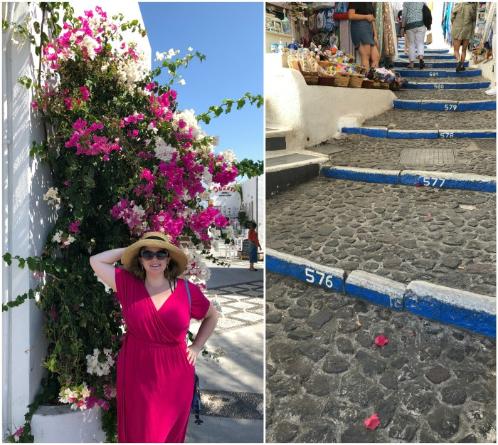 My first visit to the Greek island of Santorini! I love love loved it.