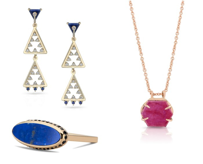 Some beautiful gemstone jewels from The Jewelry Showcase. By Loriann Jewelry, Enji Studios, and DRU.
