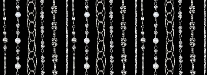 One of the beautiful necklaces from the Platinum Born collection!