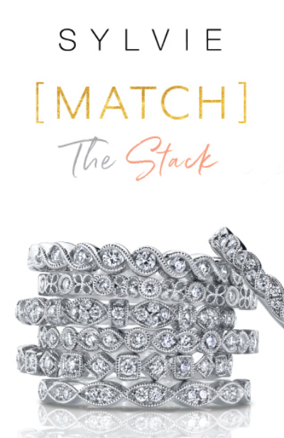 Enter to win a FREE diamond stacking band from Sylvie Collection!! #MatchTheStack