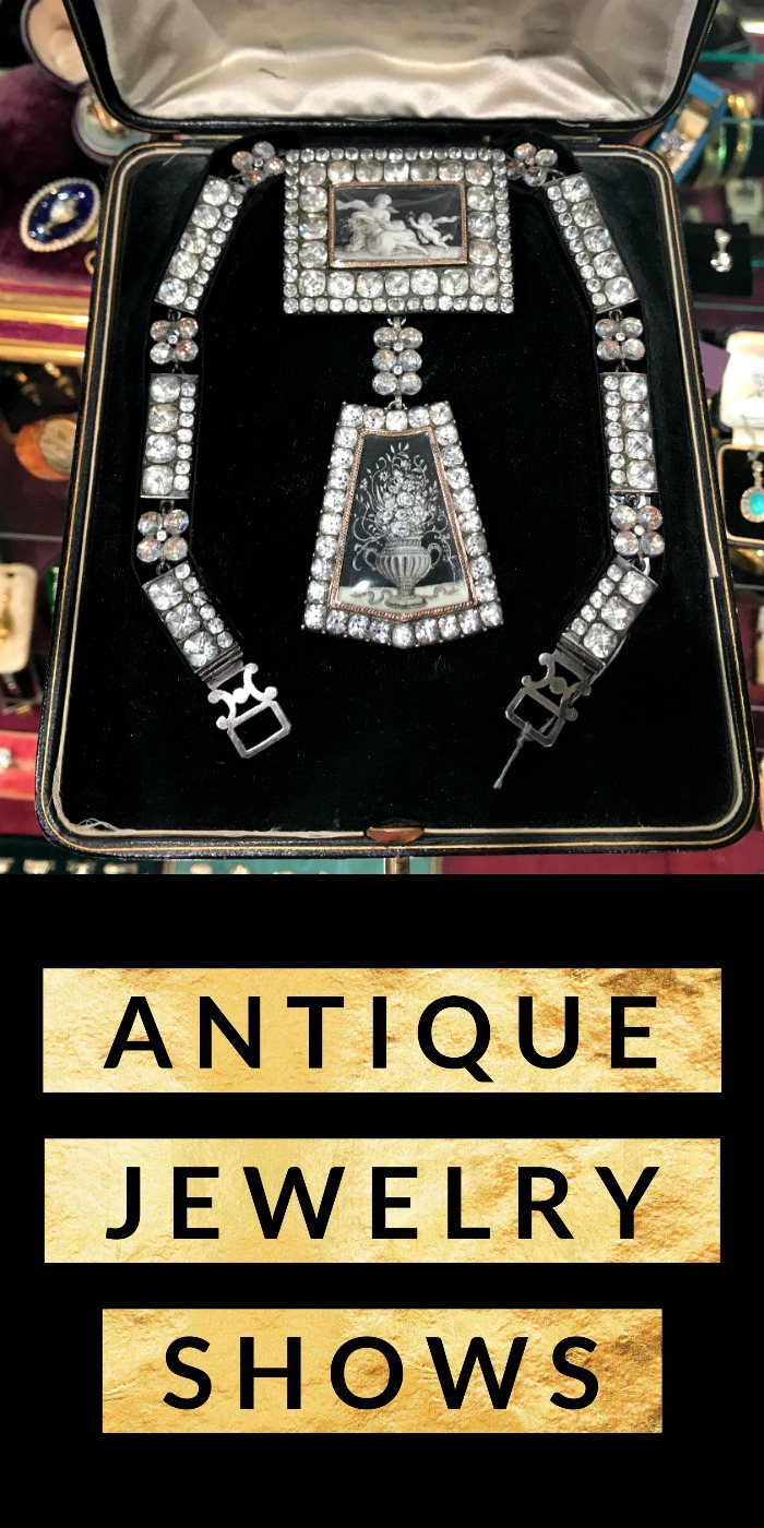An introduction to antique jewelry shows - my top tips to have fun, find deals, and make the most of your first antique jewelry show!
