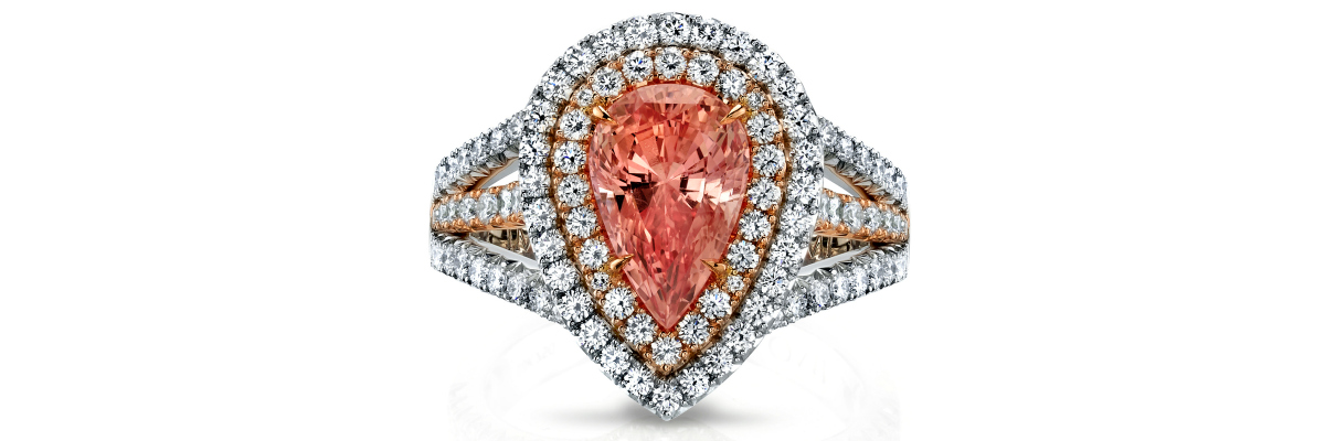 Pretty pink rings by Omi Prive.
