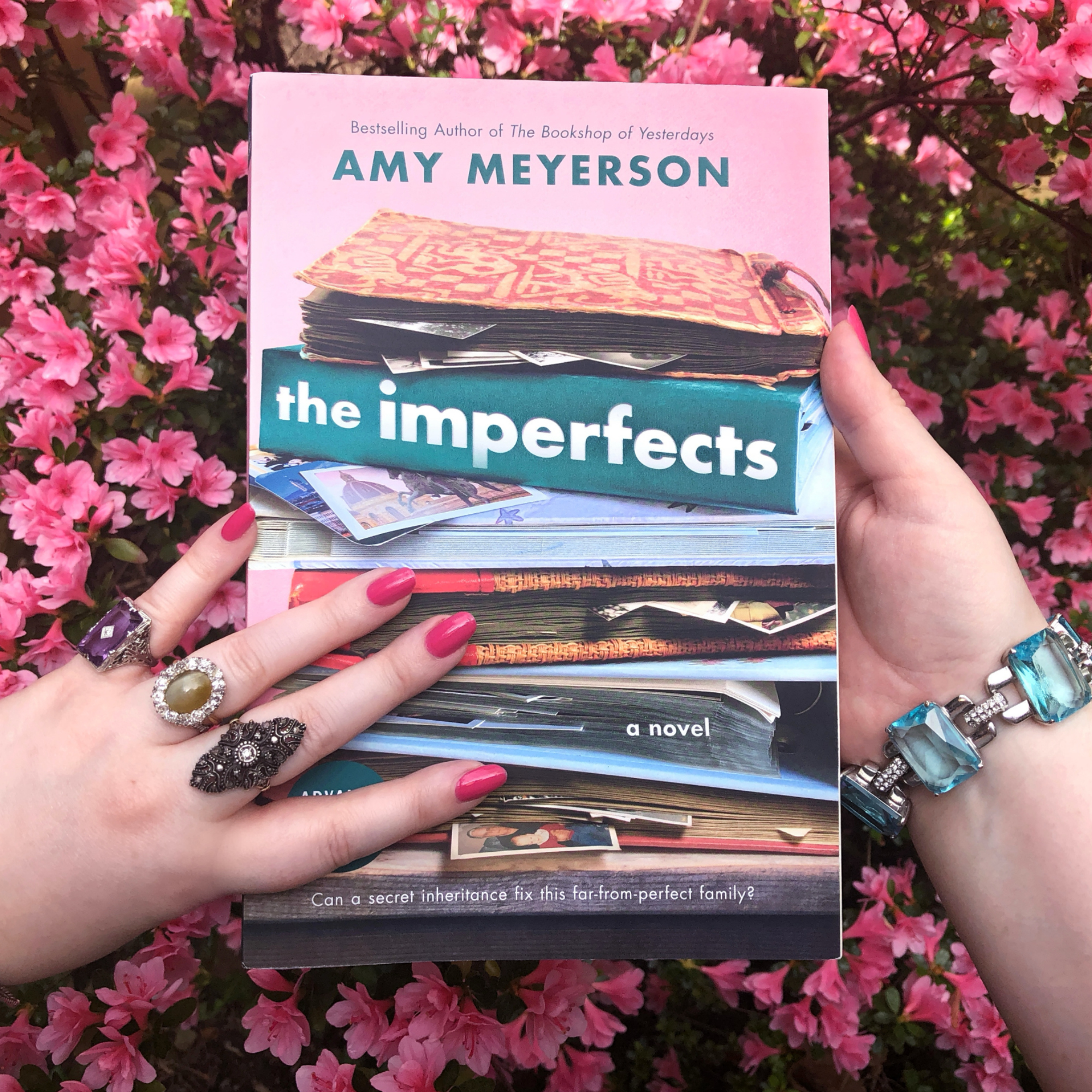 My review of The Imperfects by Amy Meyerson; the story of a lost diamond found, a forgotten history rediscovered, and a fractured family knit back together.