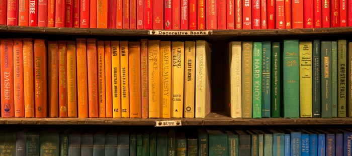 What I'm reading. Rainbow book photo by Jason Leung on Unsplash
