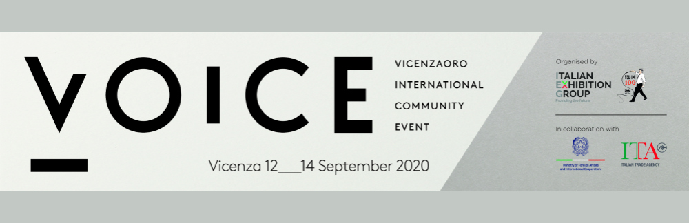 The VOICE Event - Italian jewelry returns with Vicenzaoro International Community Event!
