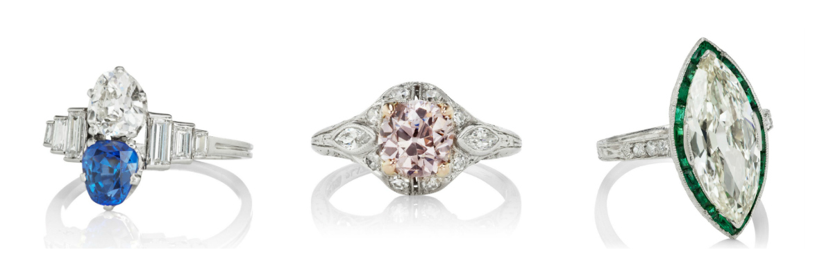 Vintage engagement rings to dream about.