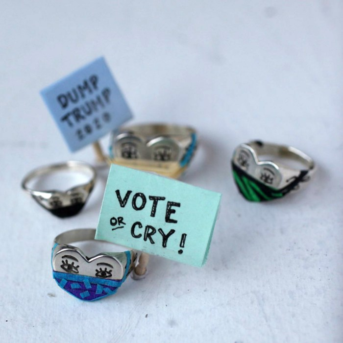 Vote or Cry photo by Fiat Lux on Instagram.