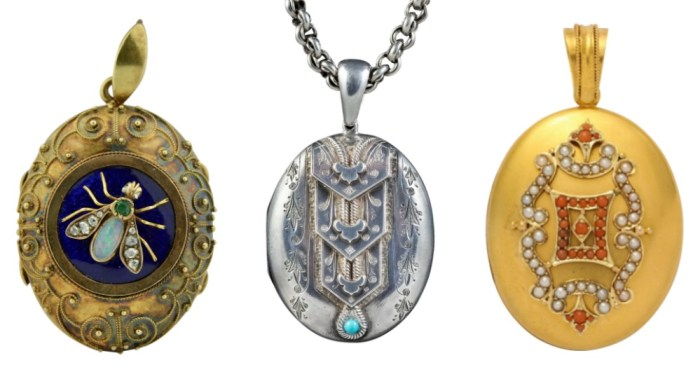 An exquisite selection of antique lockets from sellers on Ruby Lane.